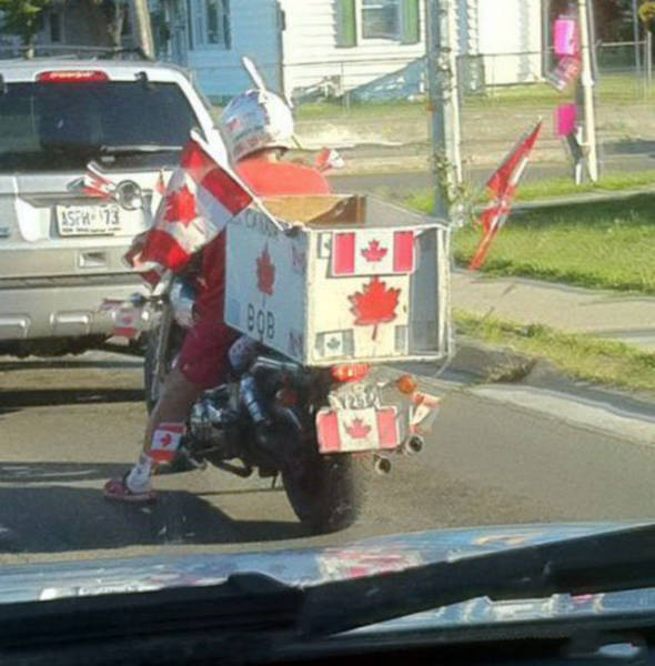 Only In Canada Can You See Such Crazy Things