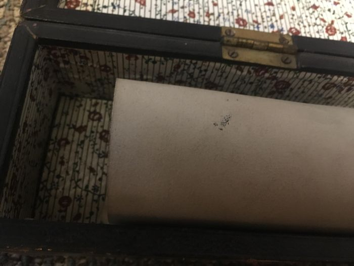 Guy Finds Unexpected Treasure While Digging Through Family Belongings