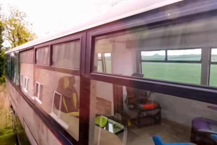 Inventor Builds His Family An Awesome Home On A Double Decker Bus