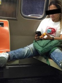 What It Looks Like When Women Start Femspreading On Public Transportation