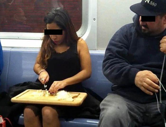 What It Looks Like When Women Start Femspreading On Public Transportation