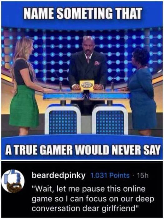 No One Really Needs Reality When We Have Games