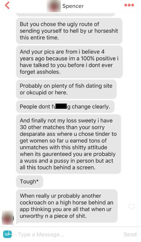 Tinder Girl Goes Off On Guy For Not Reading Her Bio