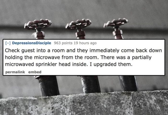 Hotel Employees Share The Weirdest Things They've Seen Guests Do