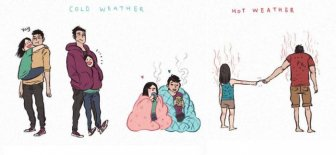 Comics That Explain What Life Is Like With A Boyfriend That's A Giant And A Nerd