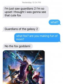 Girl Goes To See Guardians Of The Galaxy And Gets A Big Surprise