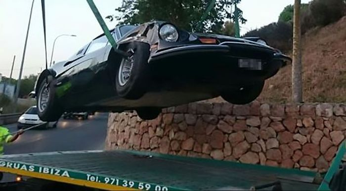Woman On Drugs Tries To Escape Ibiza After Crashing A Ferrari