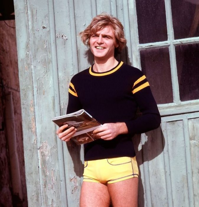 Throwback Photos Of Guys Trying To Look Cool In Short Shorts
