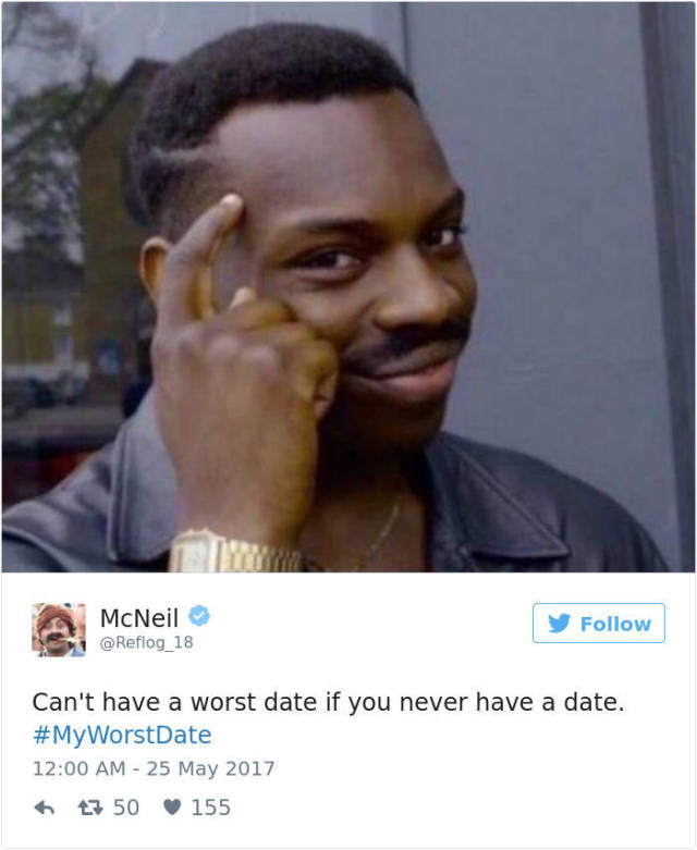 Twitter Users Share Stories About Their Worst Dates