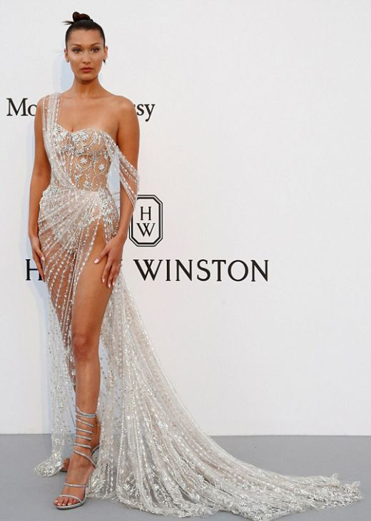 Bella Hadid Turned Heads With Her Dress At The Cannes Festival