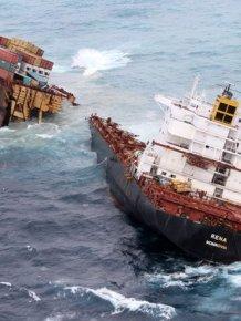 Brutal Photos Of Shipwrecks