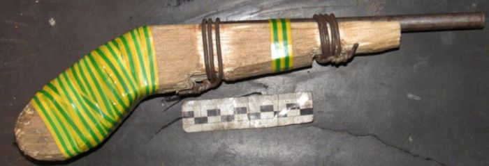 Homemade Weapons That Have Been Seized By The Russian Police