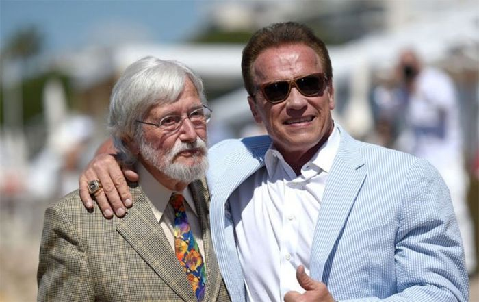 Arnold Schwarzenegger In Cannes Back In The Day And Today
