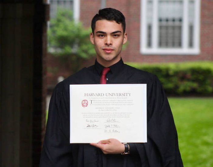 Guy's Long Road To Harvard Graduation Is The Epitome Of Inspiration