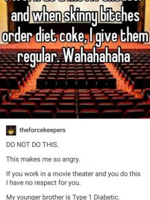 Cinema Employee Gets Called Out For Giving A Diet Coke To A Diabetic