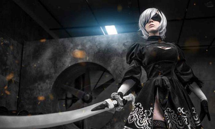 Stunning Nier: Automata Cosplay