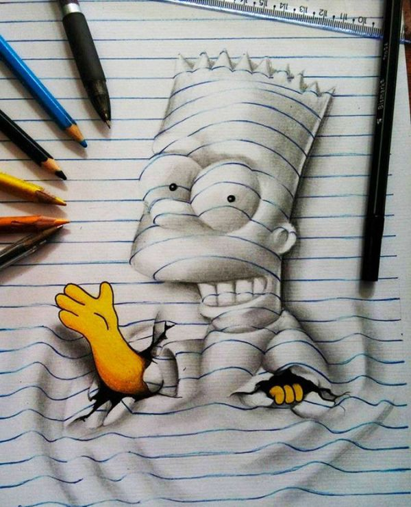This 17-Year-Old Creates Incredible 3D Art
