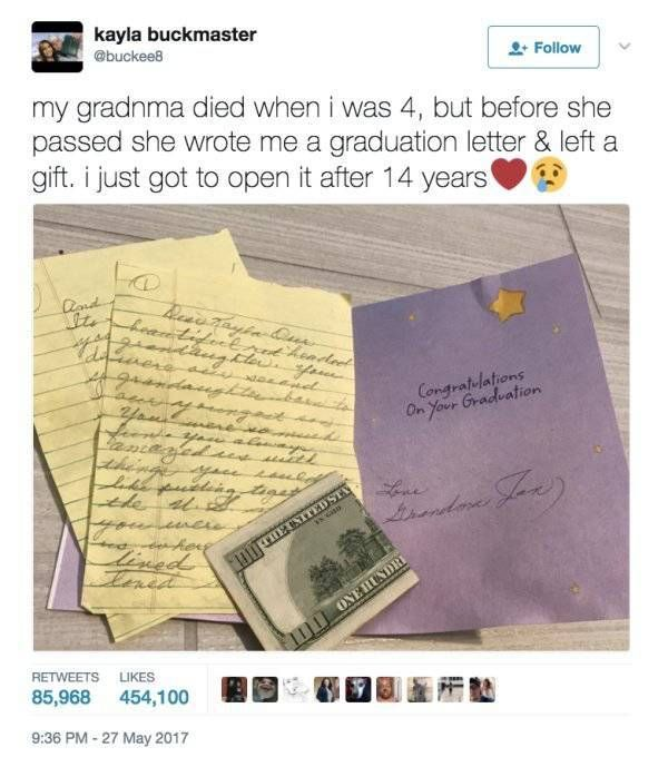 She Had To Wait 14 Years To Get This Gift From Her Late Grandmother