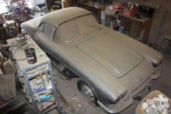 Rare Corvette Discovered In Nevada Garage