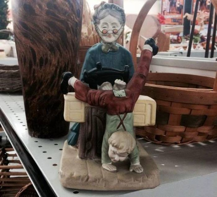 Thrift Shops Are Full Of Items That Can't Be Explained