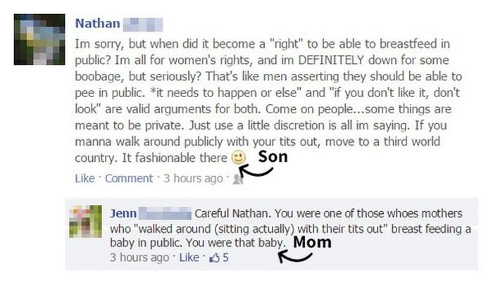 People Who Got Owned By Their Parents On Facebook