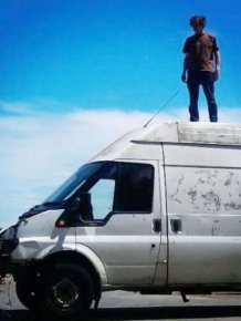 Artist Creates Stunning Sculpture Out Of A Van