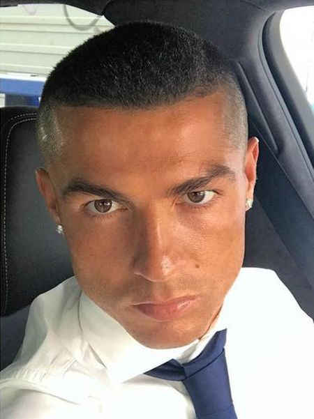 Cristiano Ronaldo Cut Off All His Hair