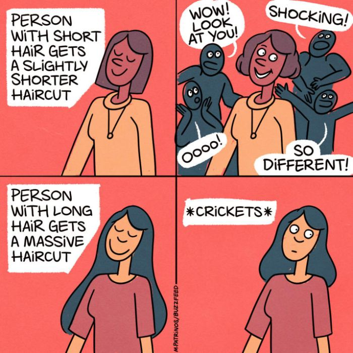 If You've Ever Gotten A Haircut These Comics Are For You