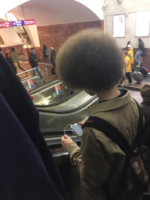 Fashion Gets Really Weird On The Russian Metro