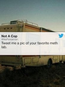 This Twitter User Might Be A Cop