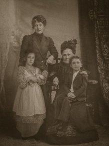 Quaint Family Photograph Exposed