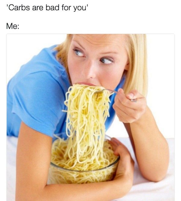 Tasty Memes About Carbs