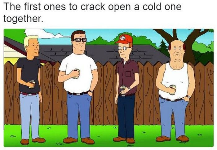 It's Time To Crack Open A Cold One With The Boys
