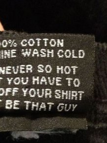 Products That Come With Witty Labels