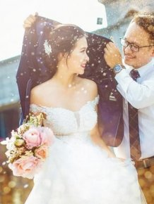 Fancy Wedding Photo Gets Exposed