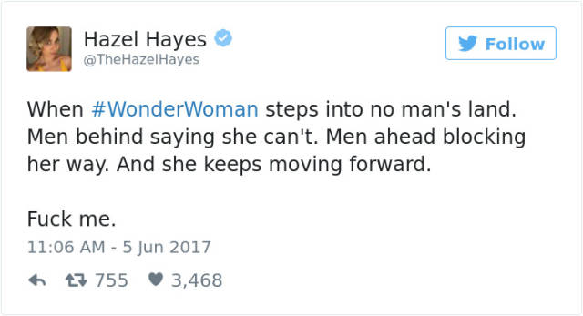 Twitter Just Can't Stop Gushing Over The New Wonder Woman Movie