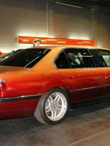 Check Out This Extended Version Of The BMW E38