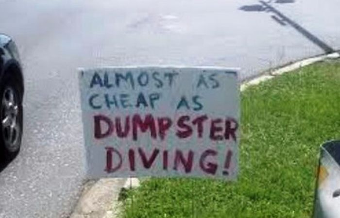 The Most Hilarious Yard Signs That Have Ever Been Created