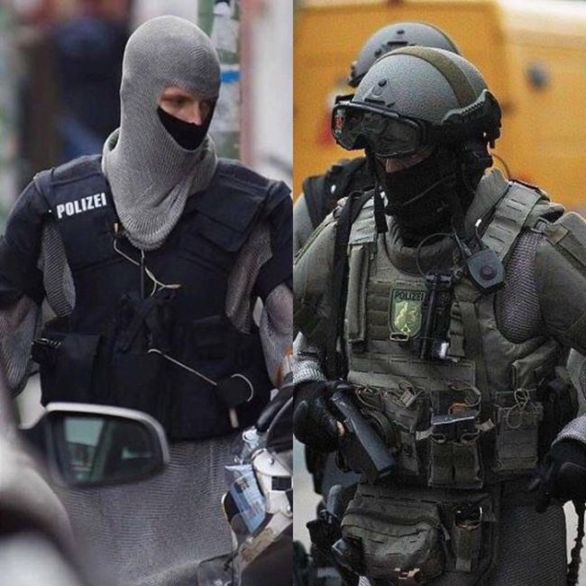German Special Forces Now Wearing Chainmail Armor