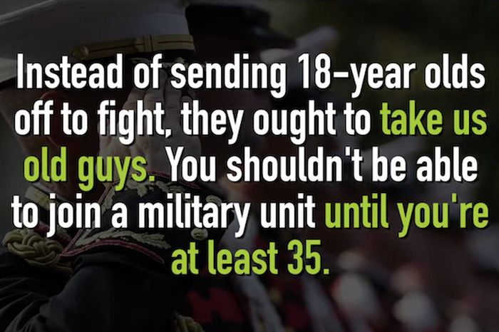 Guy Rejected From Military Gives Them An Unforgettable Response