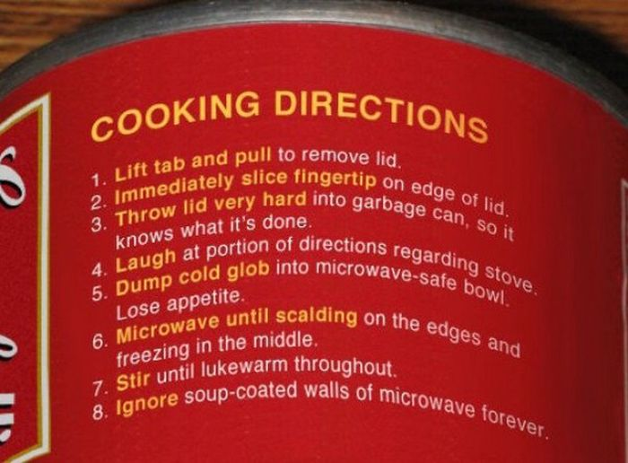 Funny Product Instructions That Will Crack You Up