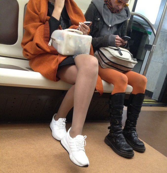 Fashion From The Russian Metro Is A Little Shocking