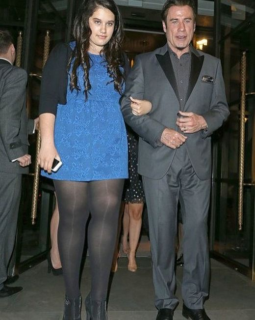 John Travolta Spotted With His 17 Year Old Daughter