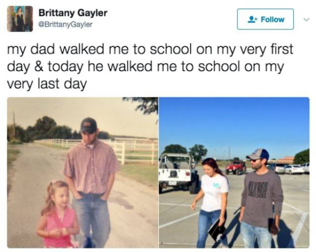 First Vs Last Day Of School Comparisons Show Kids Grow Up Quick