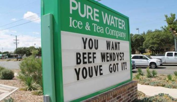 Wendy's Has A Very Strong Sign Game