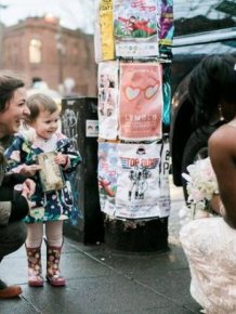 Bride Makes Little Girl's Greatest Dream Come True