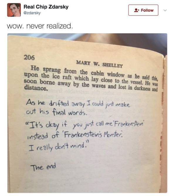 Funny And Clever Jokes About Literature