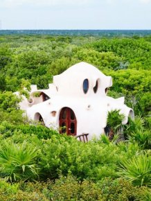 Amazing Treehouse In Mexico Overlooks Gorgeous Green Jungle