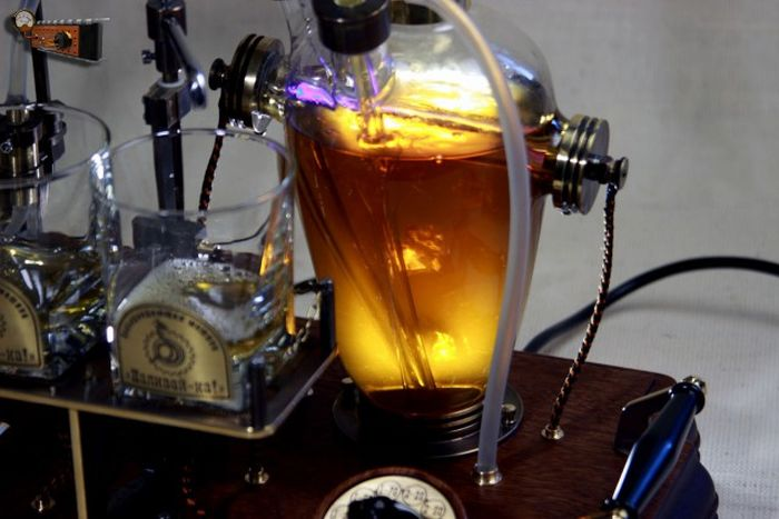 This Alcohol Dispenser Is Stunning