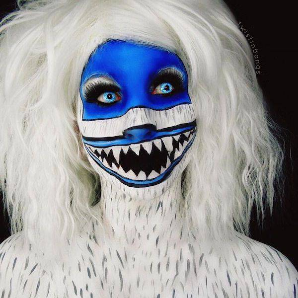 This Make-Up Artist's Work Is Terrifyingly Awesome
